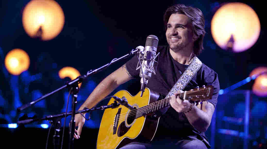 Juanes' latest album is all acoustic, and was recorded in front of a live audience as part of MTV's Unplugged series.