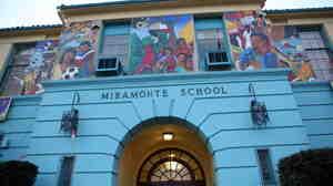 Miramonte Elementary School in Los Angeles.
