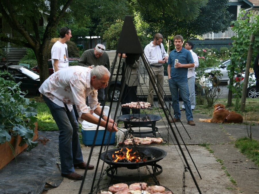 Creating A Schwenker World, One Backyard Grill At A Time
