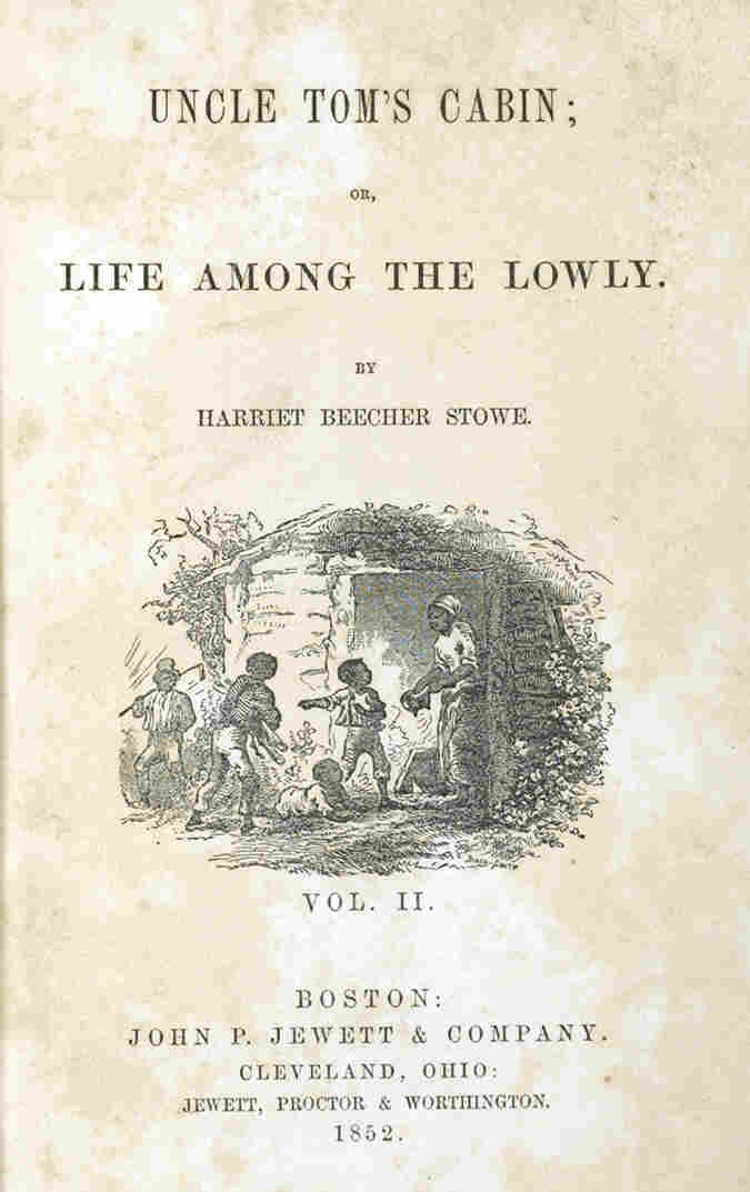 Harriet Beecher Stowe's Uncle Tom's Cabin was the best-selling novel of the 19th century. This copy belonged to civil rights leader Susan B. Anthony.