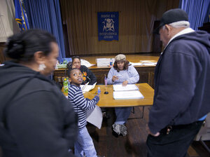 Pennsylvania voters show identific