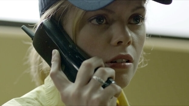 "Fast-food employee Becky (Dreama Walker) finds herself the victim of a cruel ""prank call"" scam in Compliance."