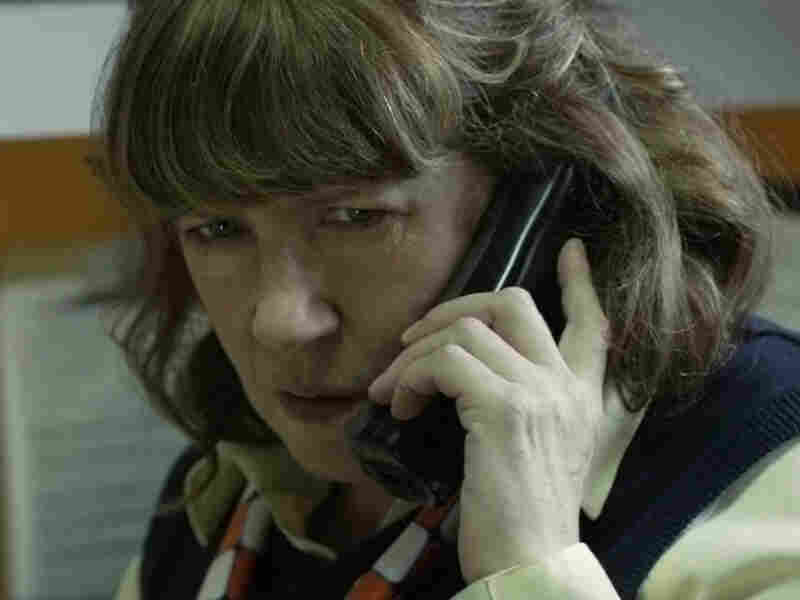 "Ann Dowd plays Sandra, manager of an Ohio ""Chickwich"" franchise. A victim of the scam, she's also an agent in Becky's violation."