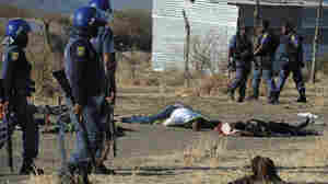 South African Police Open Fire On Striking Miners, More Than 30 Killed