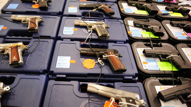 A database of mentally ill people barred from buying guns lacks all the records required. (AFP/Getty Images)