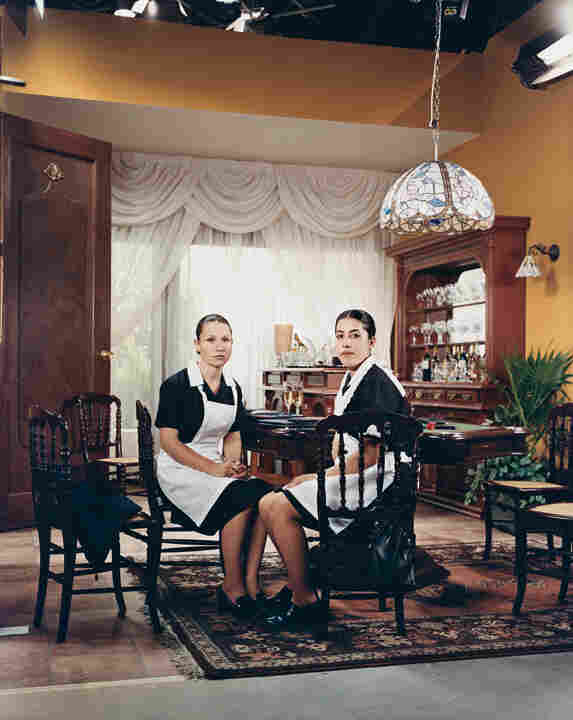 Azucena Preciado Hernandez and Claudia Janet Prado Terrazas in Amarte es mi Pecado (Loving You Is My Sin), 2003.