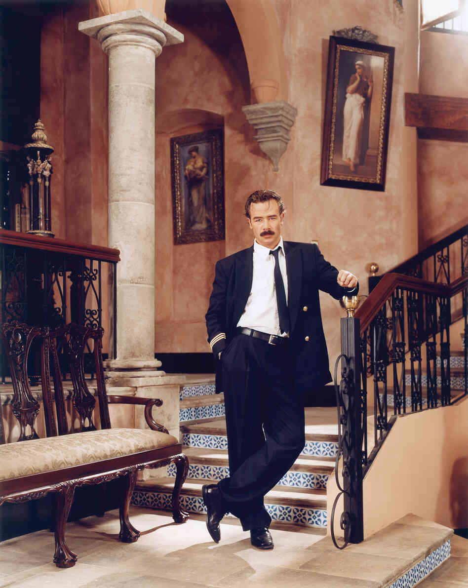 Sergio Sendel as Arturo Sandoval de Anda in Amarte es mi Pecado (Loving You Is My Sin), 2003, from The Factory of Dreams by Stefan Ruiz.