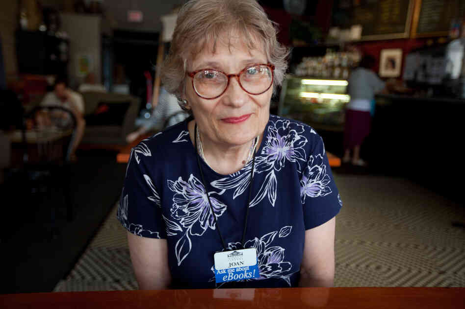 Joan Kaeding is a reference assistant at the Oshkosh Public Library. NPR talked to her at New Moon Cafe in downtown Oshkosh. She says she's fielding lots of questions at the library about the new health care law.