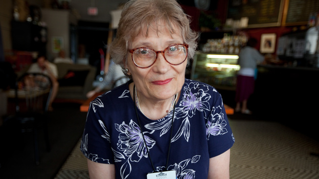 Joan Kaeding is a reference assistant at the Oshkosh Public Library. NPR talked to her at New Moon Cafe in downtown Oshkosh. She says she's fielding lots of questions at the library about the new health care law. (NPR)