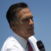 Republican presidential candidate Mitt Romney writes on a whiteboard during a news conference Thursday in Greer, S.C.