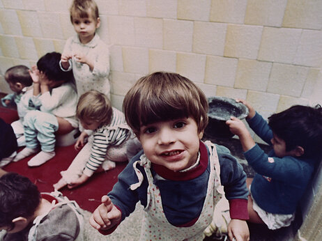 Romanian orphanages were routinely overcrowded and children often lacked toys, as was the case at Bucharest's Number One Orphanage in 1991. A new law should make adoptions a bit easier. However, adoptions remain relatively rare.
