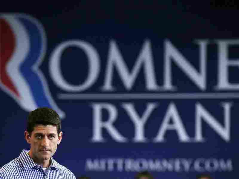 Romney's vice presidential pick Paul Ryan.