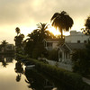 The canals in LA's Venice neighborhood serve as the scene of a murder in Robert Crais' 2011 novel, The Sentry.
