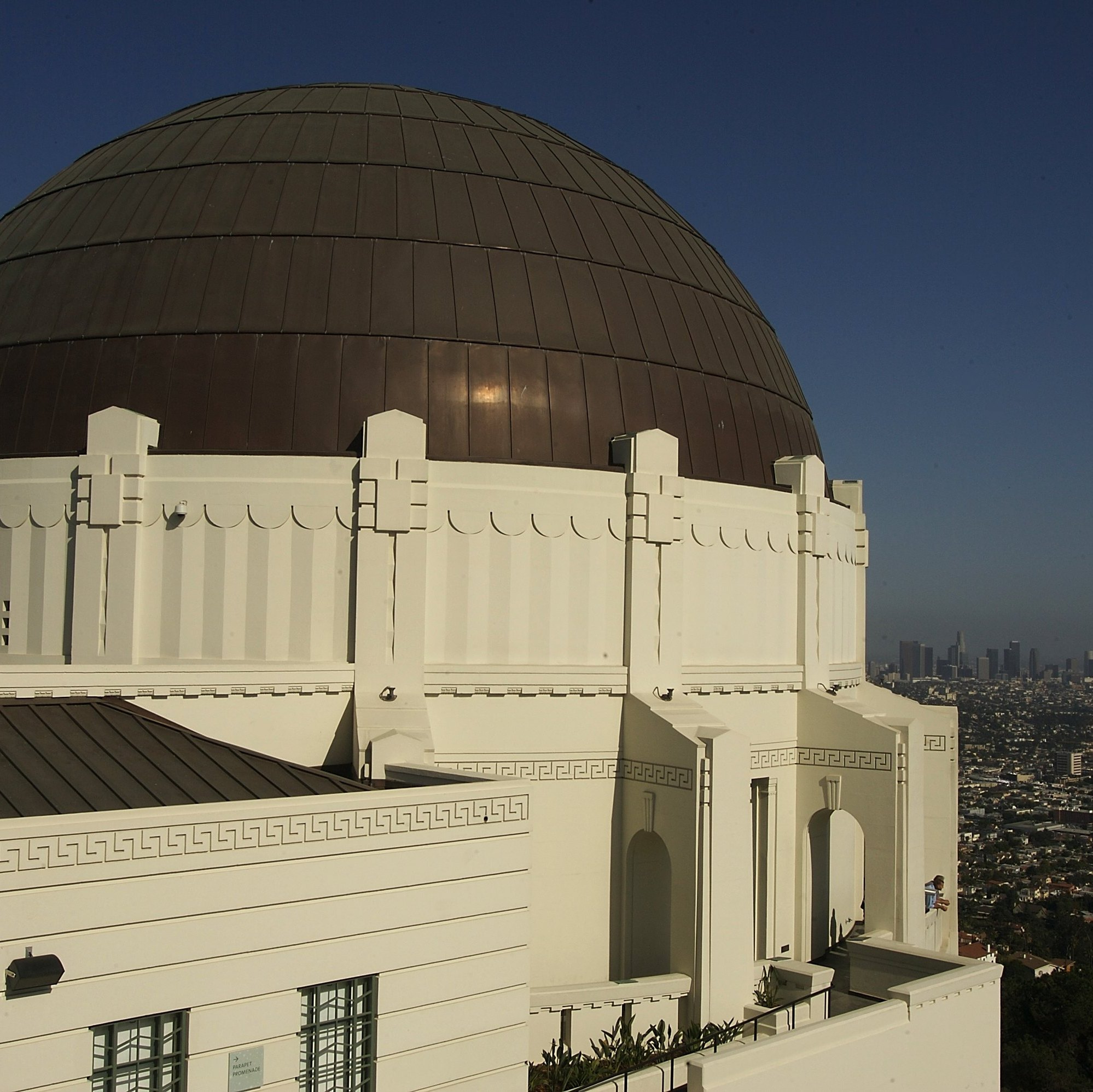 LA's iconic Griffith Observatory is just one of the many sights that define the city for Robert Crais.
