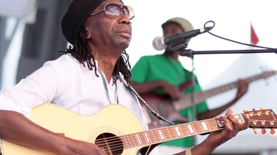 "Thomas Mapfumo wrote one of the most famous revolutionary songs, ""Hokoyo."" (Courtesy of the artist)"