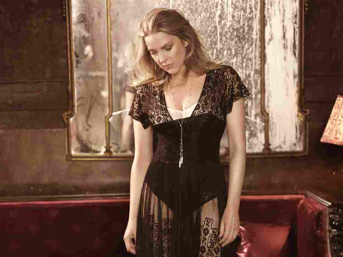 Pianist and singer Diana Krall received attention from the jazz press this week — and not for her music.