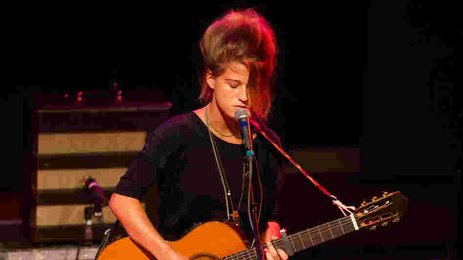Selah Sue performs some songs at World Cafe Live in Philadelphia.