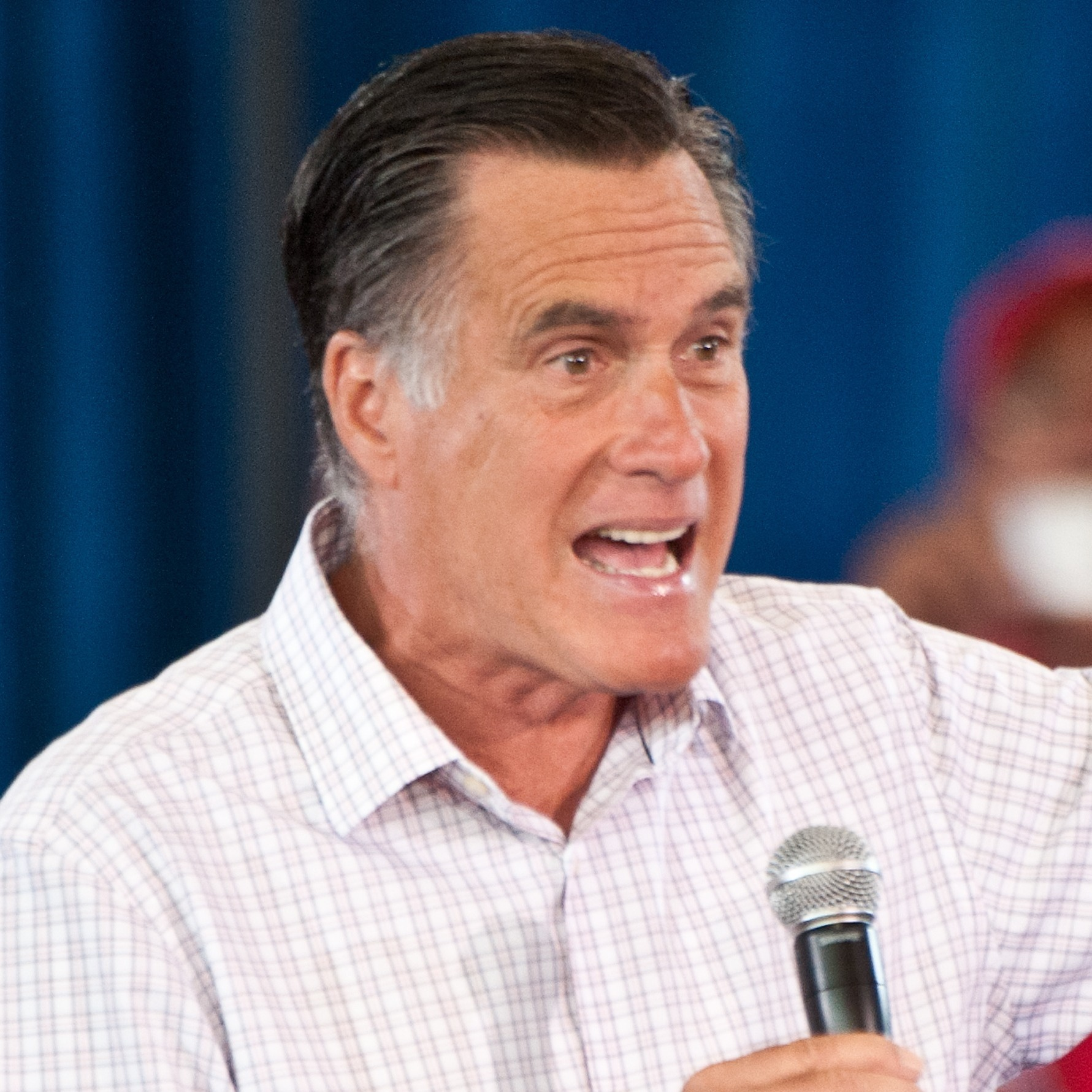 "Republican presidential candidate Mitt Romney speaks at a town hall meeting in Grand Junction, Colo., on July 10. Romney said he has ""nothing hidden"" in his taxes."