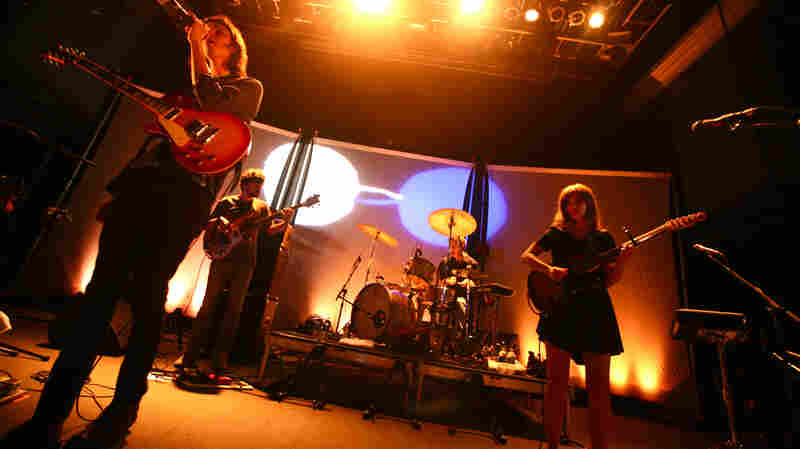 Dirty Projectors, performing live at the 9:30 Club in Washington, D.C.