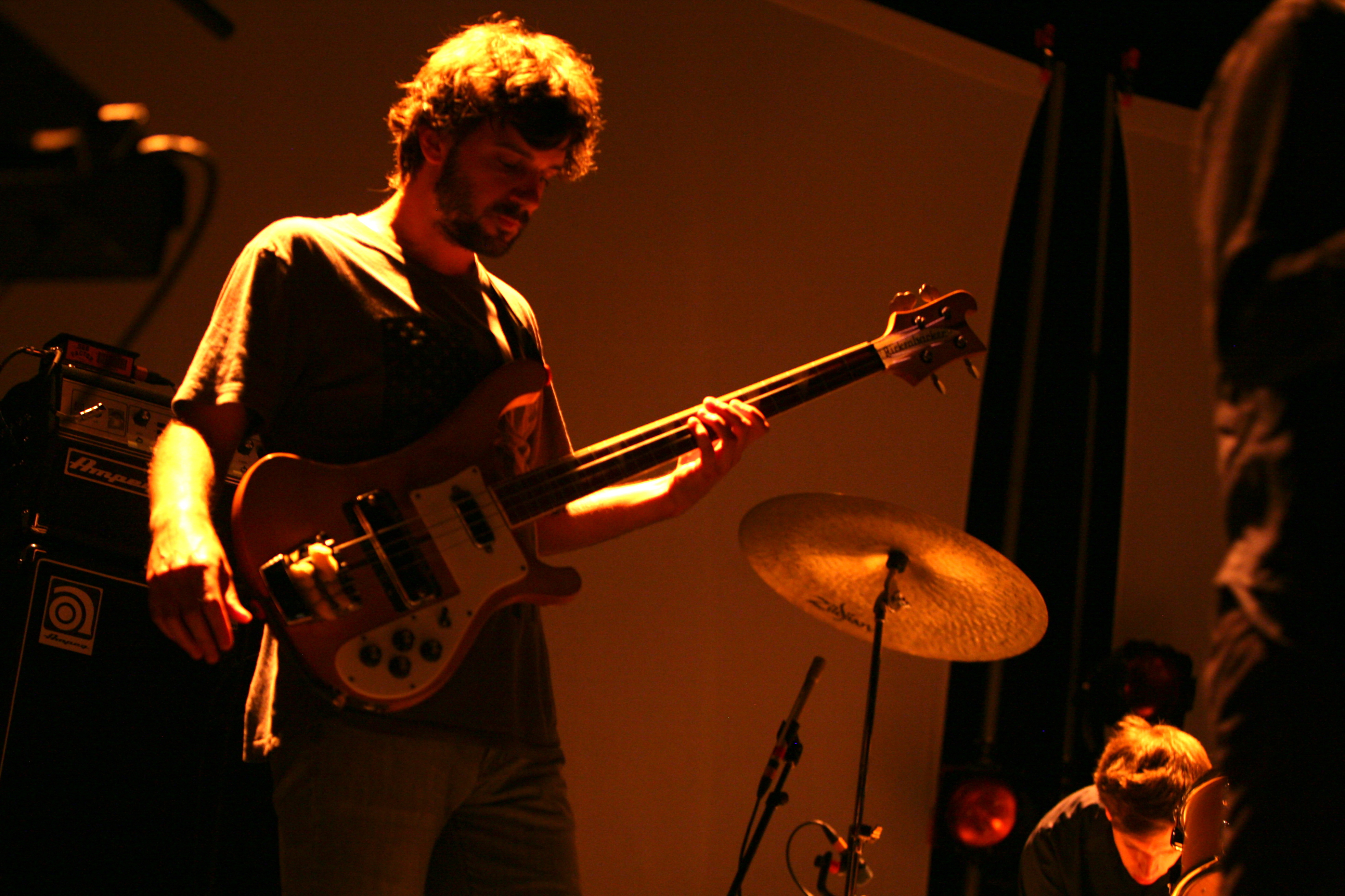 Dirty Projectors, performing live at the 9:30 Club, in Washington, D.C.