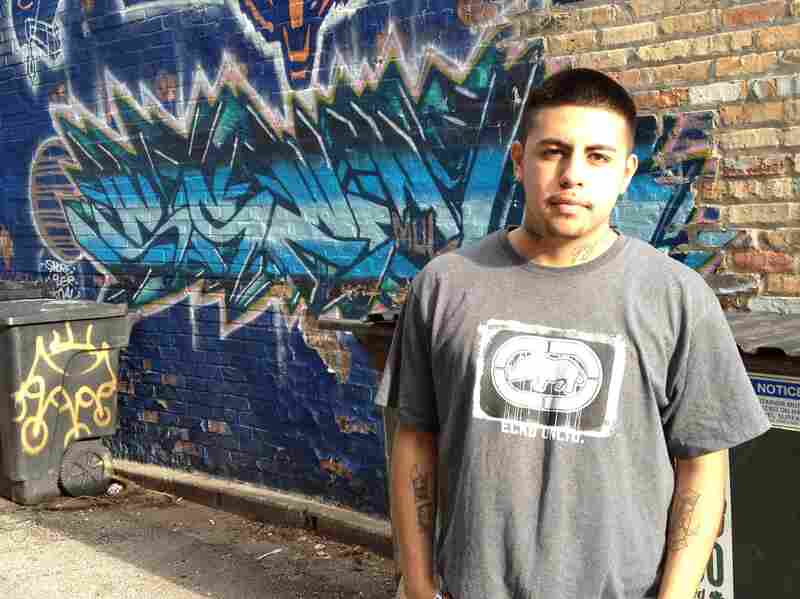 Elias Roman, 17, has been through Illinois' juvenile justice system twice. But the second time around, he was paired with a mentor, and he's looking at things differently.