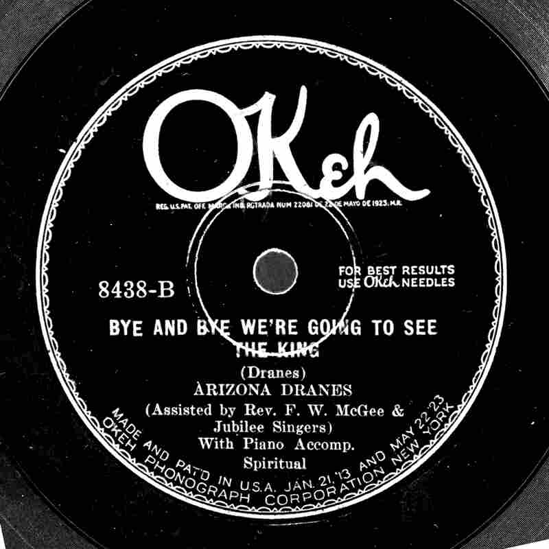 One of Dranes' Chicago recordings, released by Okeh Records.