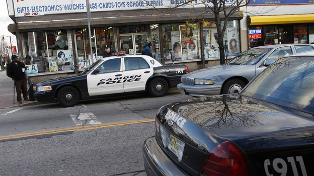 The city of Camden, N.J., is considering getting rid of its own police force and turning to the county to try and combat record crime. (AP)