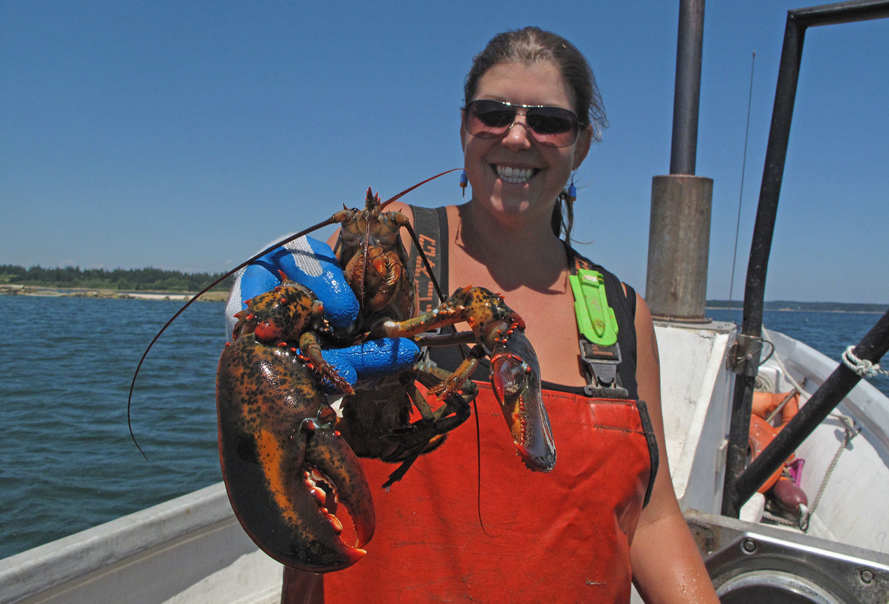 She 39 s no man she 39 s a lobsterman ideastream for Lobster fishing in maine