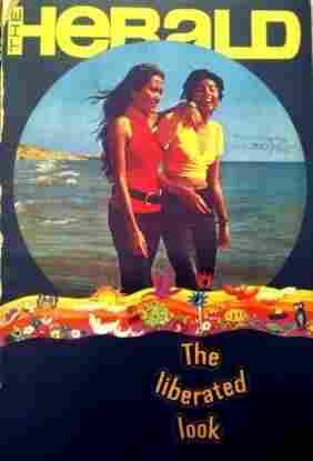 The women on the cover of the May 1972 issue of Pakistan's The Herald look like they could be in Miami or Athens. The magazine initially focused on the changing fashion and social trends of urban Pakistani youth.