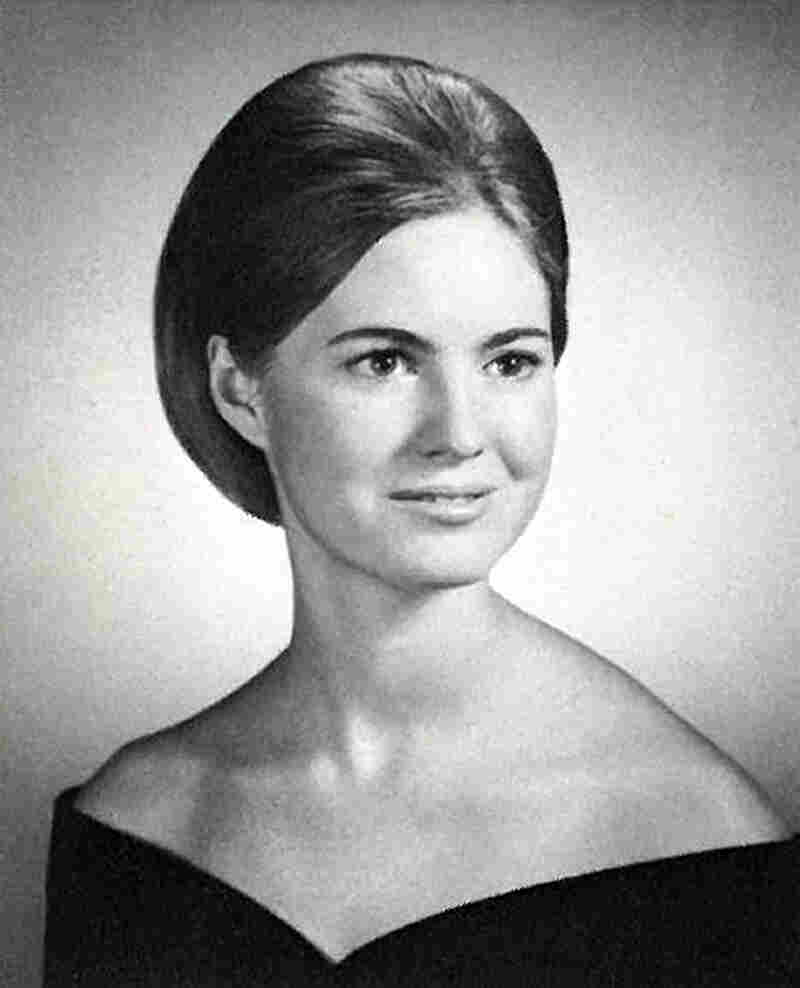 Ann Davies in a 1967 photo from her senior year of high school.