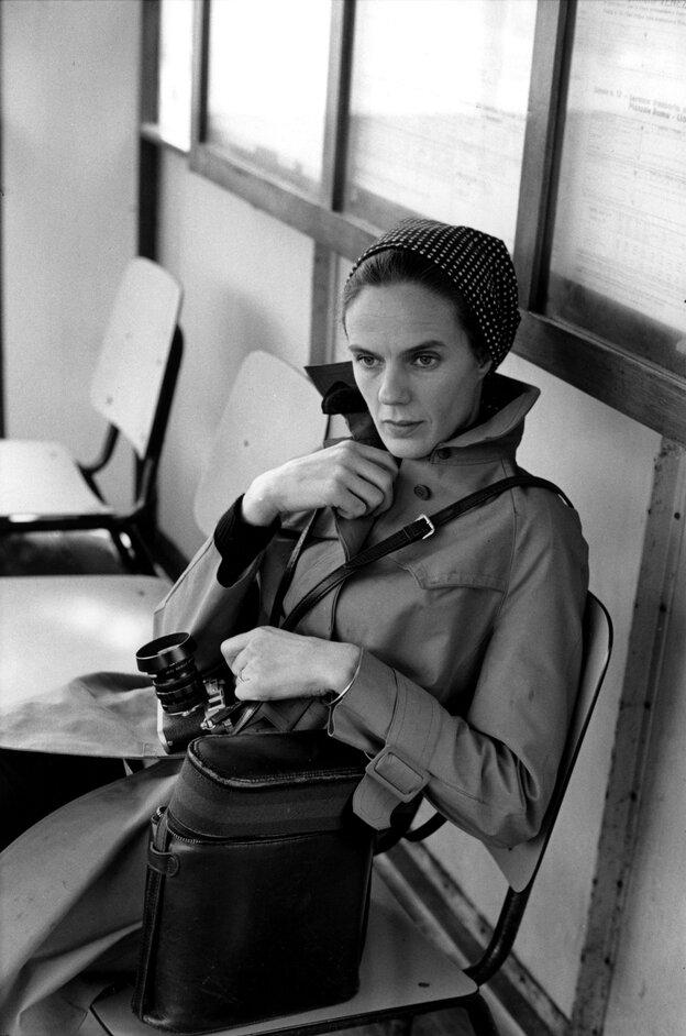Photographer Martine Franck, Venice, Italy, 1972. Franck died of cancer on Aug. 16.