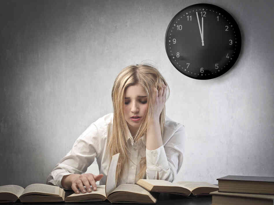 It may not be the best strategy to stay up late and cram. A new study finds that when teens don't get the sleep they need, all kinds of things can go poorly.