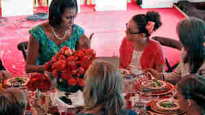 White House Dinner Rewards Kids Who Eat (And Cook) Their Veggies