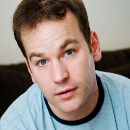 Comedian Mike Birbiglia co-wrote the script for the new film about himself: Sleepwalk With Me.