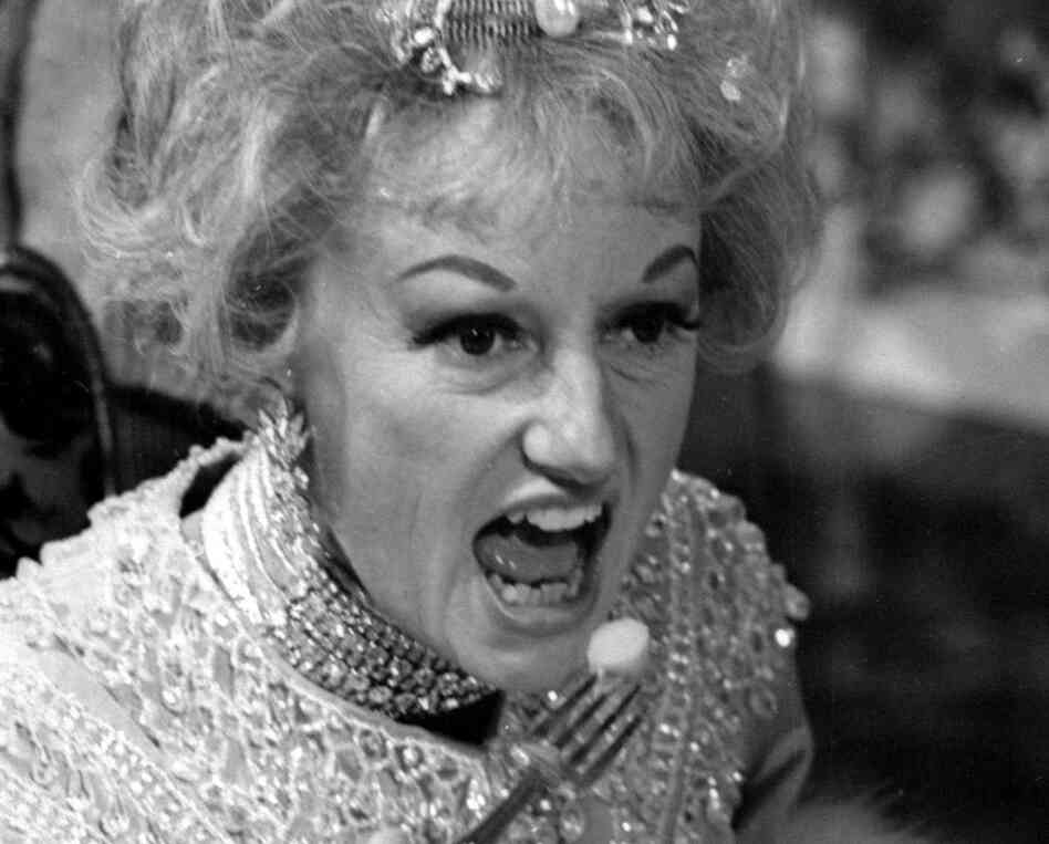 "In this May 20, 1966 file photo, comedian Phyllis Diller appears in character in the ABC-TV comedy series ""The Pruitts of Southampton."""