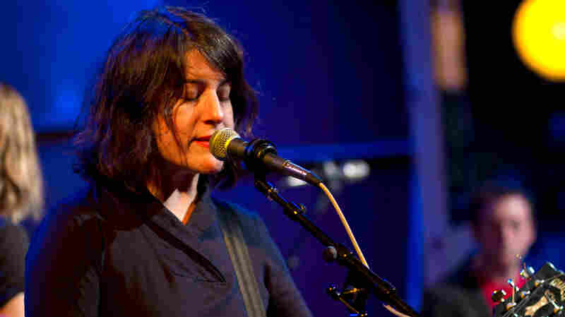 Rebecca Gates performs live at Oregon Public Broadcasting.