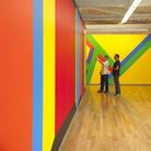 Sol LeWitt: A Wall Drawing Retrospective includes 105 of LeWitt's large-scale works. It will be on-view at MASS MoCA until 2033.