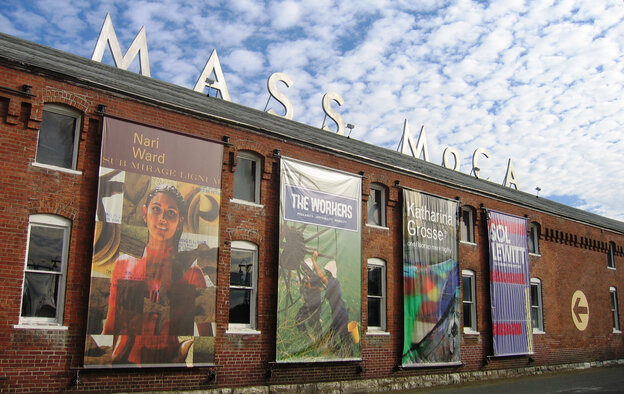 In a valley at the foot of the Berkshire Mountains, a struggling industrial town is trying to make an artistic comeback. North Adams is now home to MASS MoCA, one of the largest museums of contemporary art in the world — housed in 26 former factory