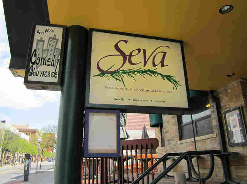 "In Very Bad Men, Seva is Sen. John Casterbridge's favorite restaurant. Dolan won't say if he's a good guy or not, because ""that would be giving it away."""