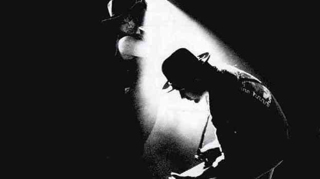 The iconic cover art for U2's 1988 album Rattle and Hum. (Courtesy of the artist)