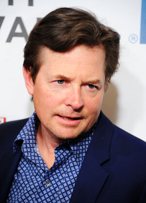 Michael J. Fox, seen here in April, will hav