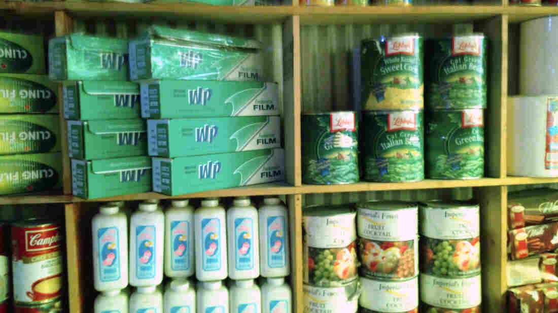 Many of the items in Kabul's Bush Bazaar are food and cleaning supplies that have presumably been stolen from NATO deliveries to Afghanistan.
