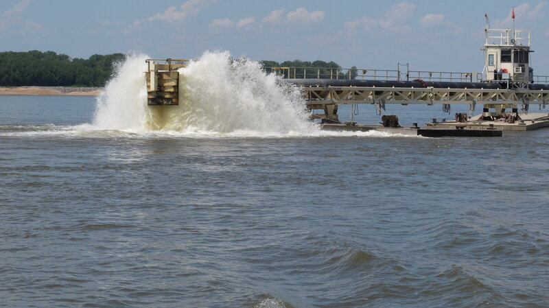 saltwater from gulf invades mississippi river npr