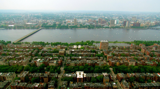 Some scientists predict that by 2050, climate change and an accompanying rise in sea level will lead to frequent flooding in Boston. (Flickr)