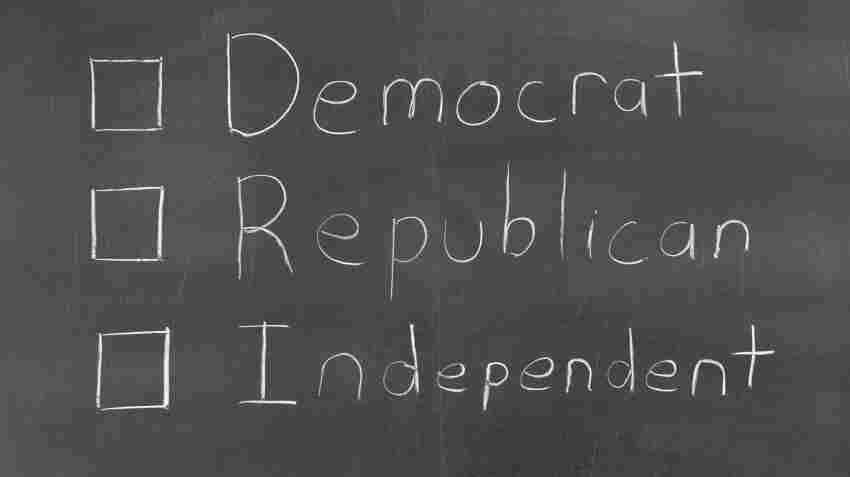 Democrat, Republican or Independent.