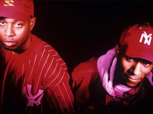 Talib Kweli and Mos Def of Black Star.