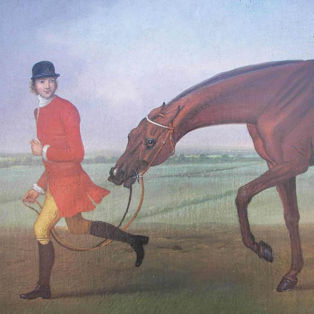 Ken Perenyi has done many forgeries of works by British sporting painter James Seymour, a detail from one of which is pictured here.