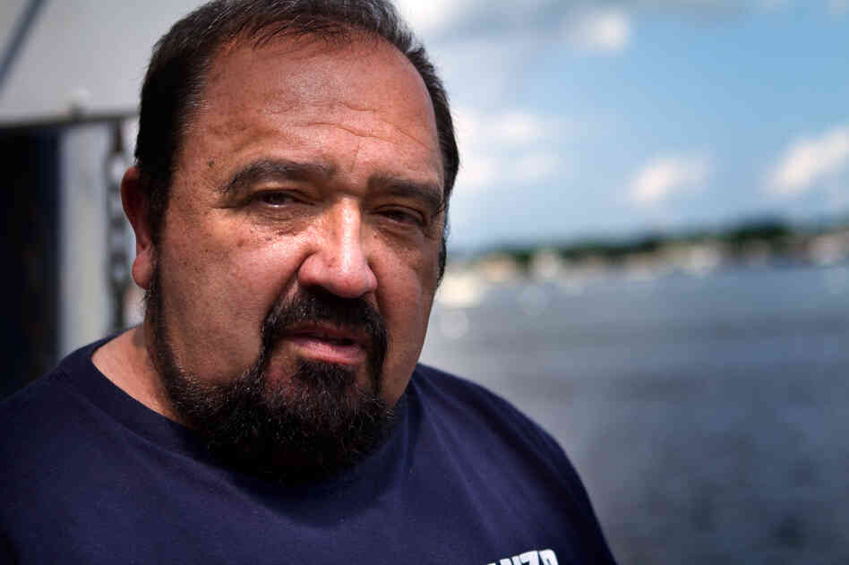 "Captain Joe Neves of the scalloper Paul + Michelle once lost a 21-year-old crew member to a man-overboard accident. ""Me and him were having strawberry shortcake the night before,"" he says."