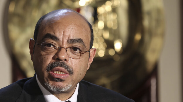 Ethiopia announced the death of Prime Minister Meles Zenawi on Tuesday, August