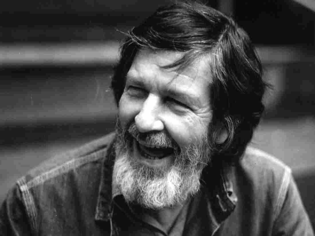 In a 1972 portrait, composer John Cage, whose music was one of the animating spirits of the New Albion label.